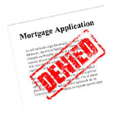 mortgage application refused