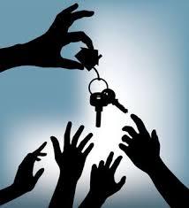 House keys go to highest bidder
