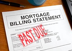 mortgage statement - default
