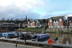 Northwich, Cheshire, the Quay