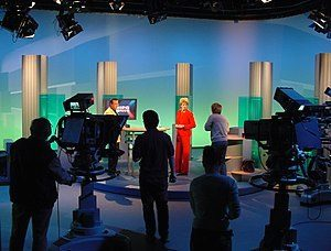 filming a tv show