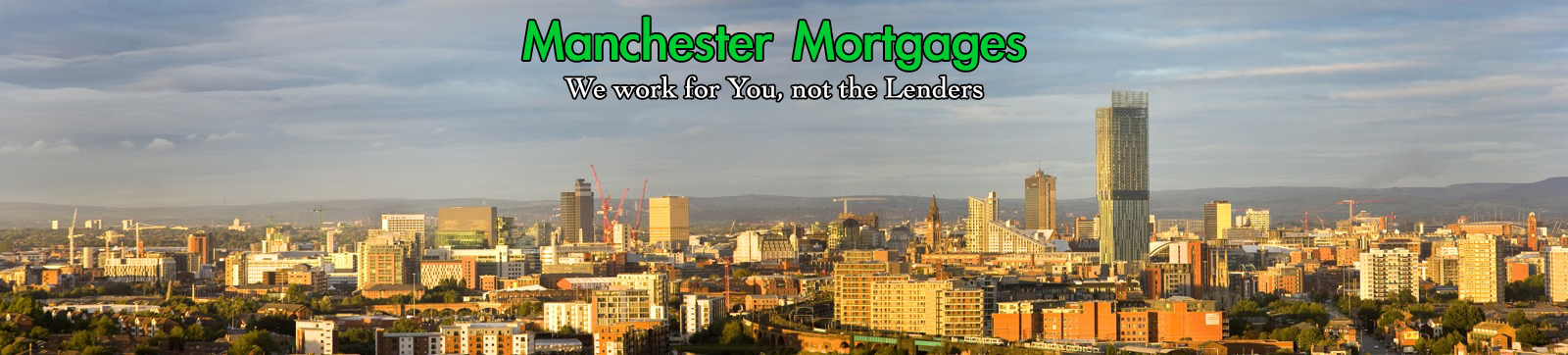 Manchester Mortgages Skyline